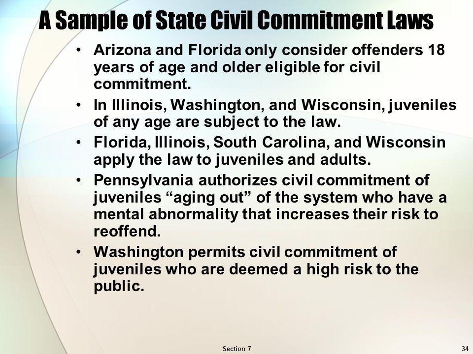 Arizona civil commitment sex offenders