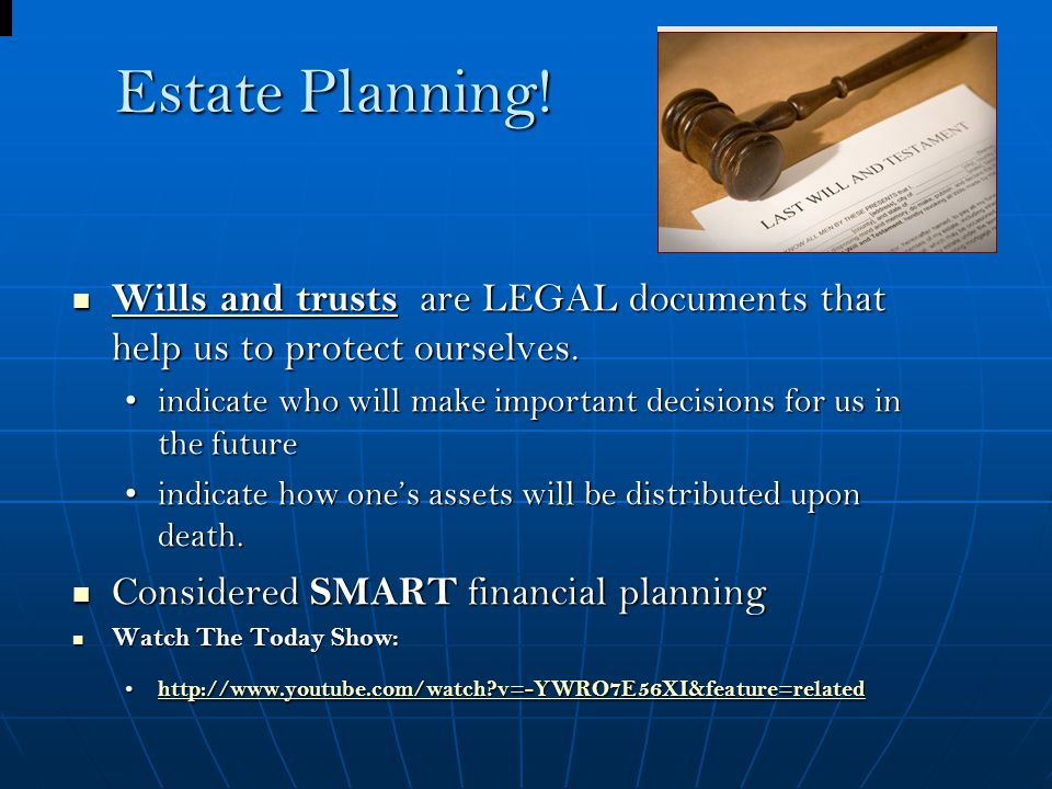 Estate Planning Wills And Trusts Chapter Estate Planning Wills - Us legal documents