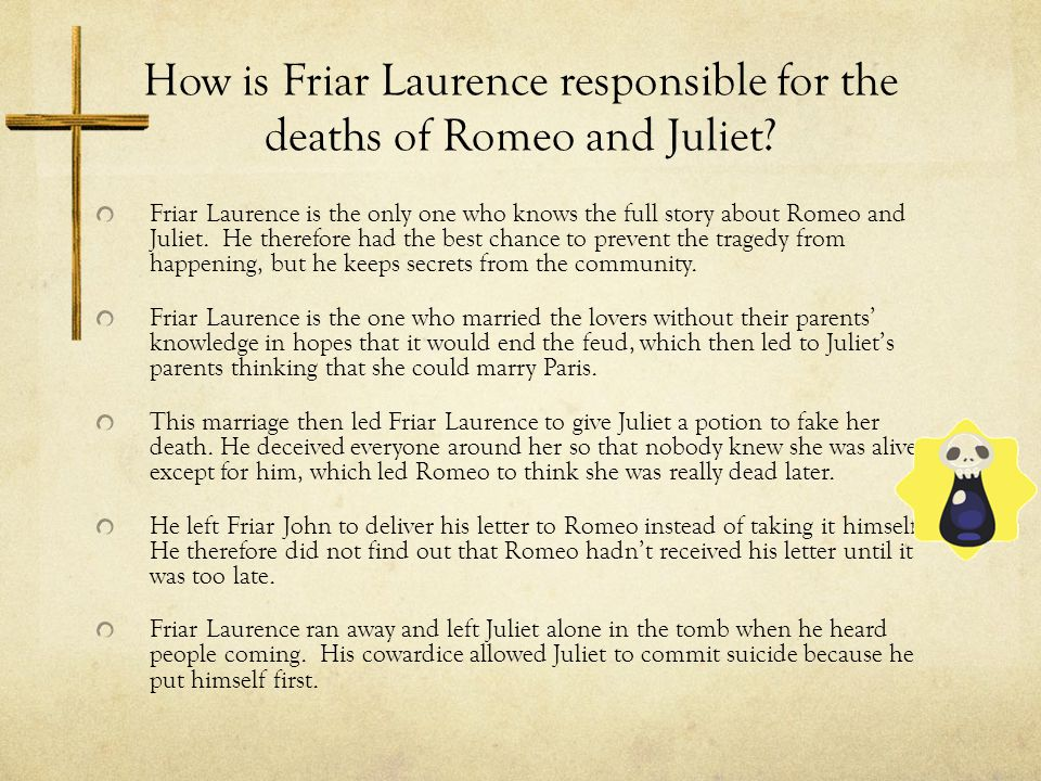 """Who Killed Romeo and Juliet? Fate Arguing that """"fate"""" led to the"""
