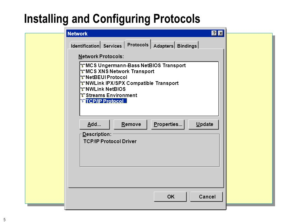 1 Module 12 Configuring Windows NT Protocols. 2  Overview Using