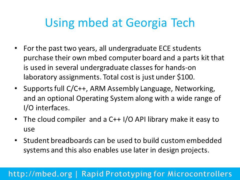 1 mbed Hands-On Instructor Workshop ESWEEK Agenda mbed Hands