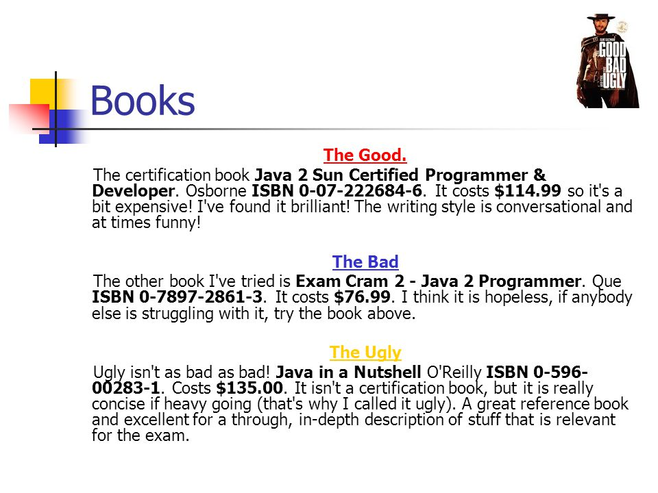 Sun Java Certification By Wyndham Ackroyd Overview Part I What Is
