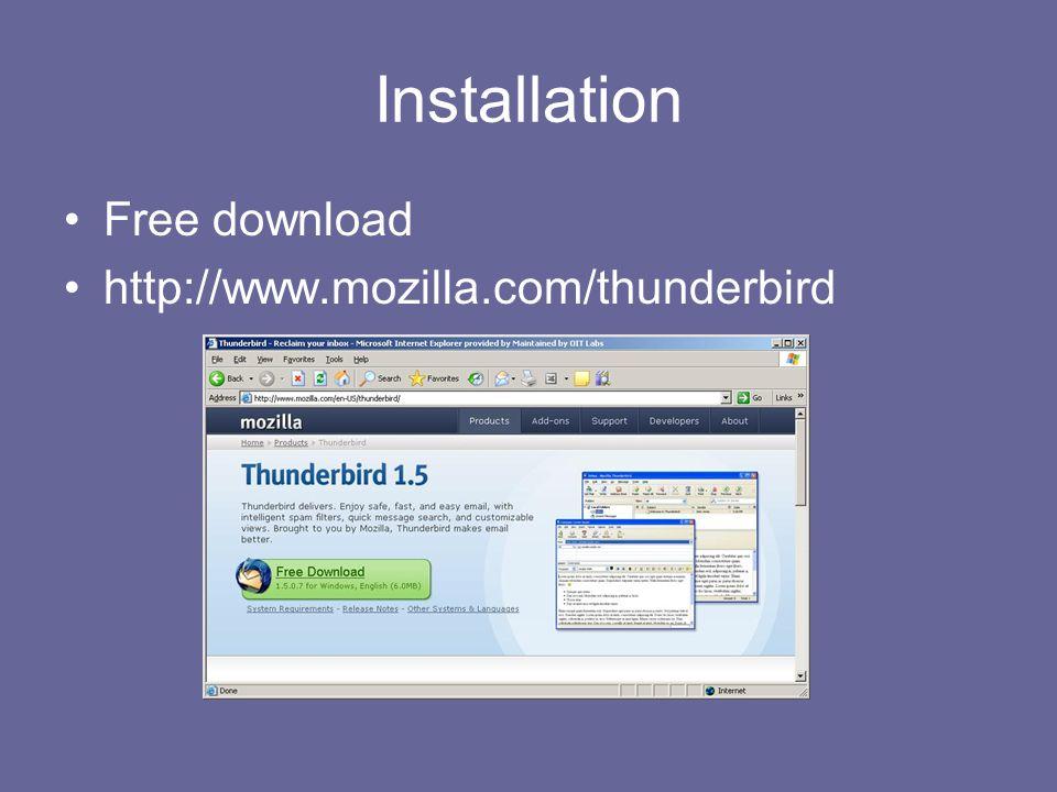 Mozilla Thunderbird Roderick Bautista Cheryl Knott Gyeong Lee Lee