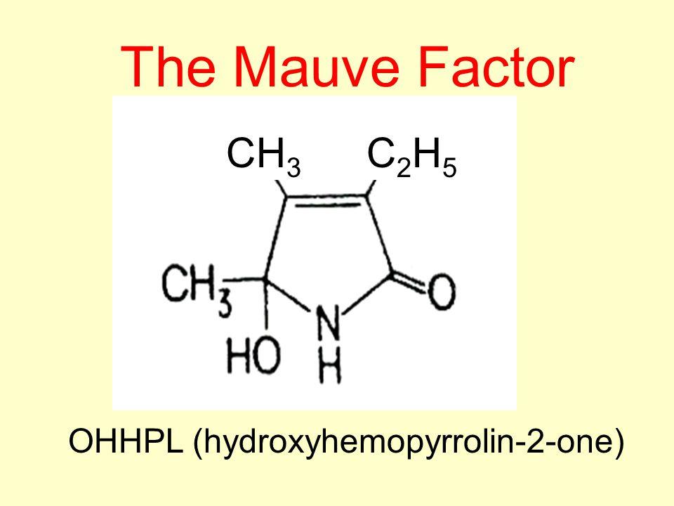 Urinary pyrrole (Mauve Factor): marker for oxidative stress