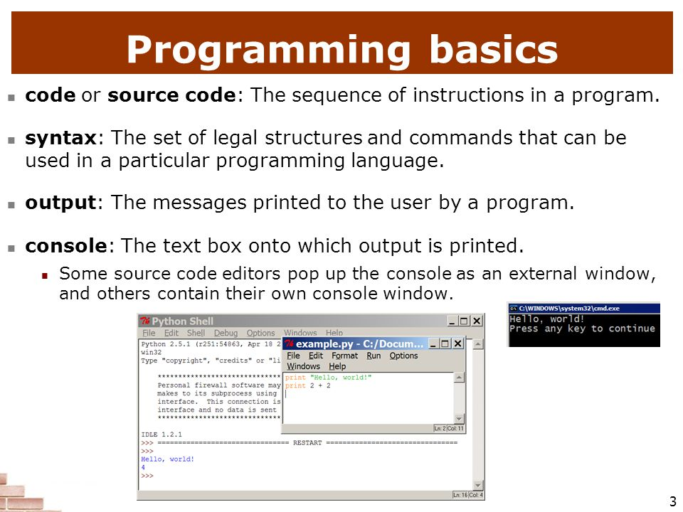 1 Introduction to Programming with Python  2 Some influential ones