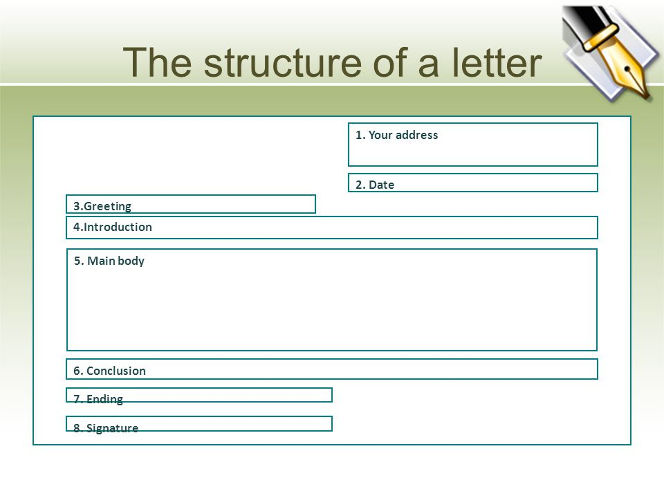 HOW TO WRITE A PERSONAL LETTER Informal letters are written to
