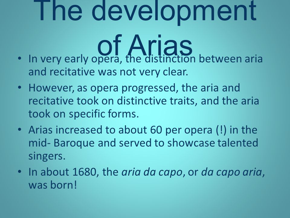 Aria Da Capo Anna Willis A New Musical Form Combining Music