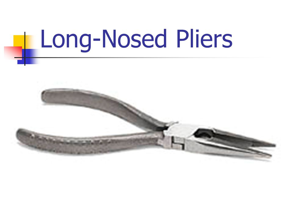 Long-Nosed Pliers