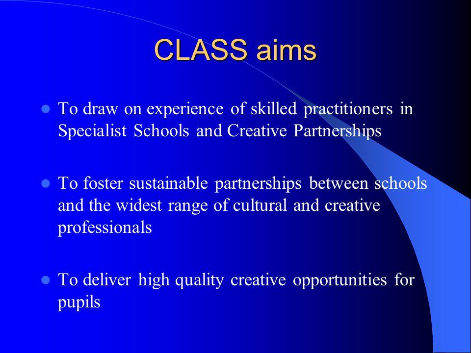 Creative Partnerships Learning 4 CLASS