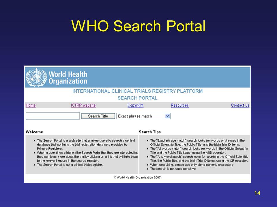 The Registration of Clinical Trials Deborah A  Zarin, M D  Director