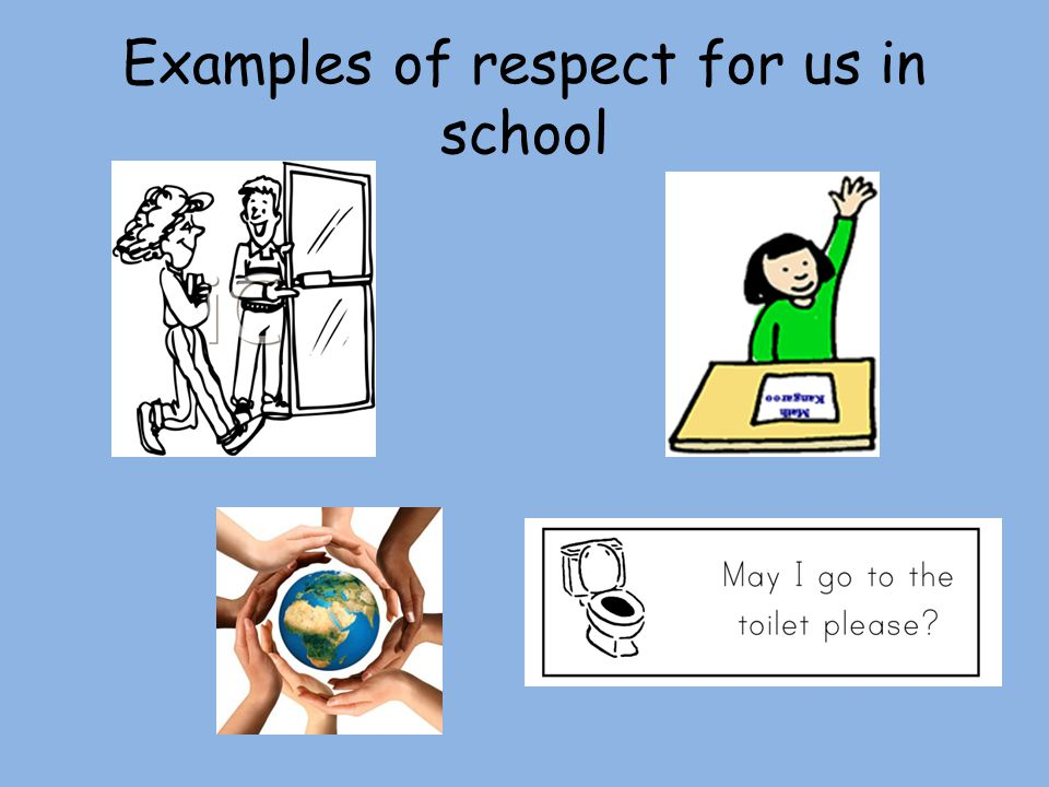 Value of the month. What does respect mean? To look up to. Ppt.