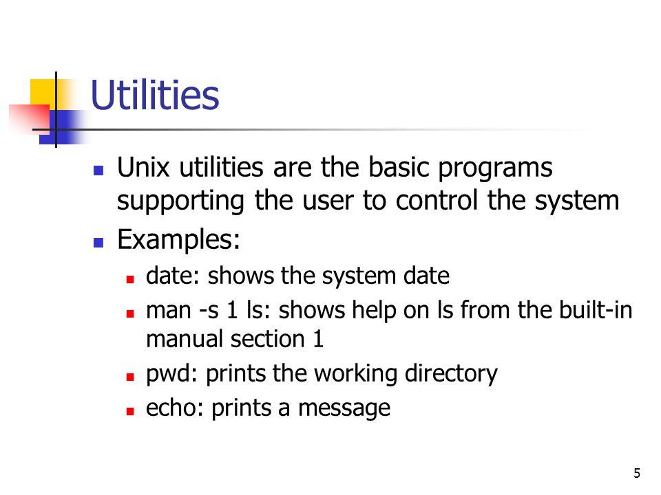 1 seem3460 tutorial unix introduction 2 introduction what is unix rh slideplayer com unix date minus 1 month unix date command manual