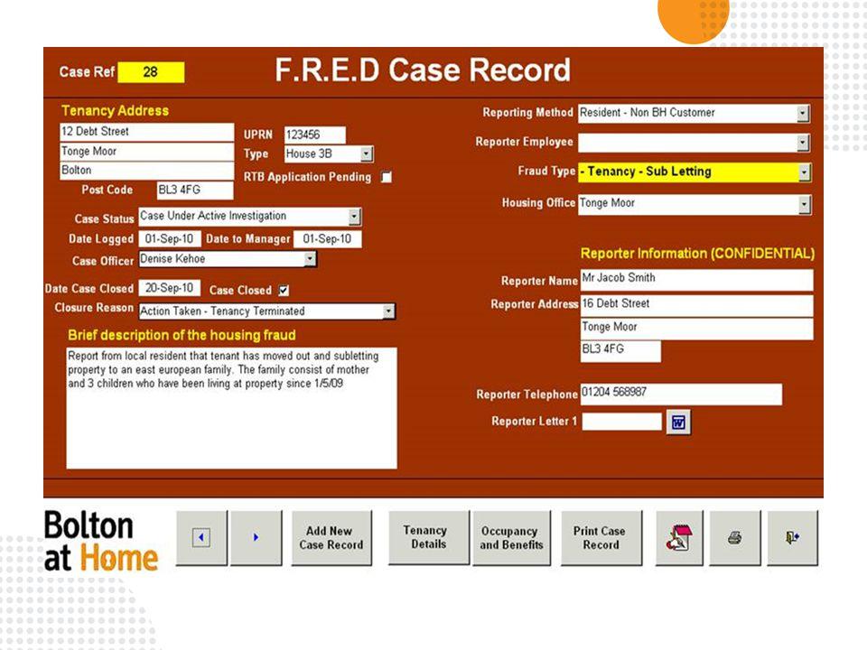 Housing Fraud The Bolton Experience Craig Hardman David Miles Ppt Download