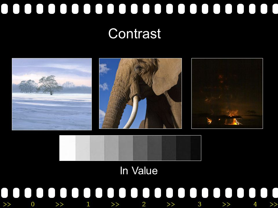 >>0 >>1 >> 2 >> 3 >> 4 >> Contrast In Value