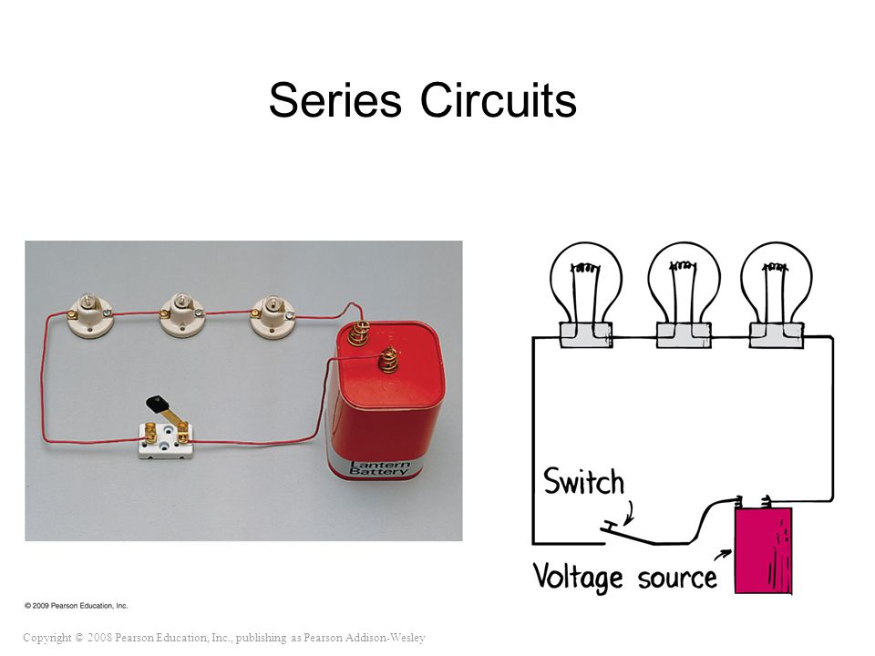 Copyright © 2008 Pearson Education, Inc., publishing as Pearson Addison-Wesley Series Circuits