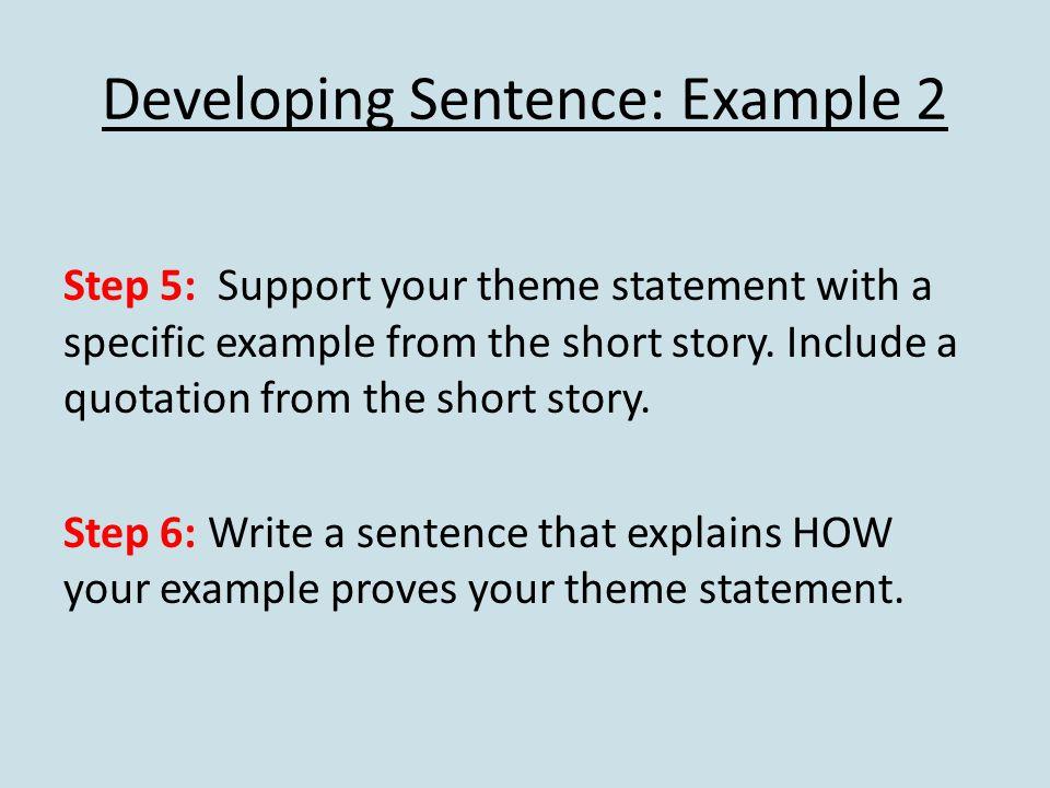 how to write a theme