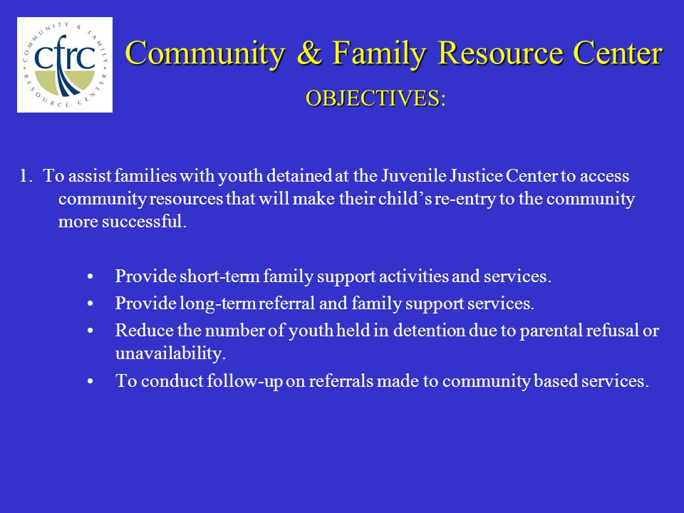 Community & Family Resource Center 1.