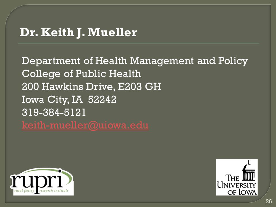 Dr. Keith J.