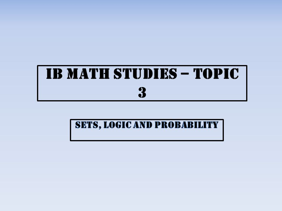 ib sl ess topic 2 study Ib guides - a social network for ib students with free study resources.