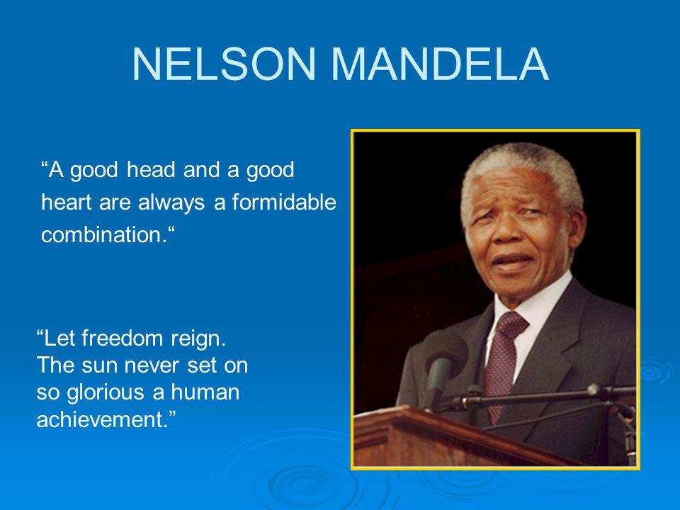 nelson mandela and his achievements