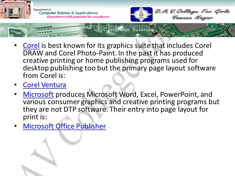 Desktop Publishing Introduction  Topics to Study DTP