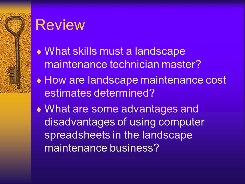 pricing landscape maintenance work next generation science common