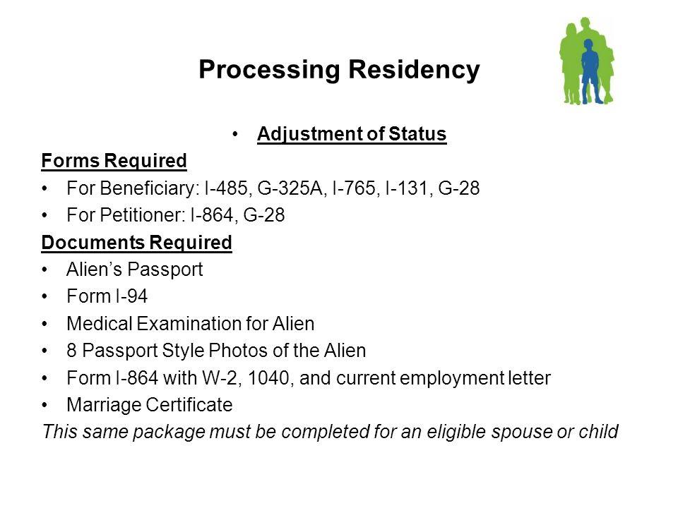 Family Based Residency Visas Categories Of Family Based Residency