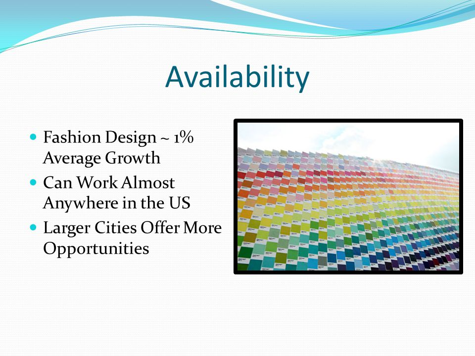 Fashion Colorist Education And Abilities Degrees Vary Minimum Of Three Years Experience Creative Attention To Detail A Good Eye Responsible Good People Ppt Download