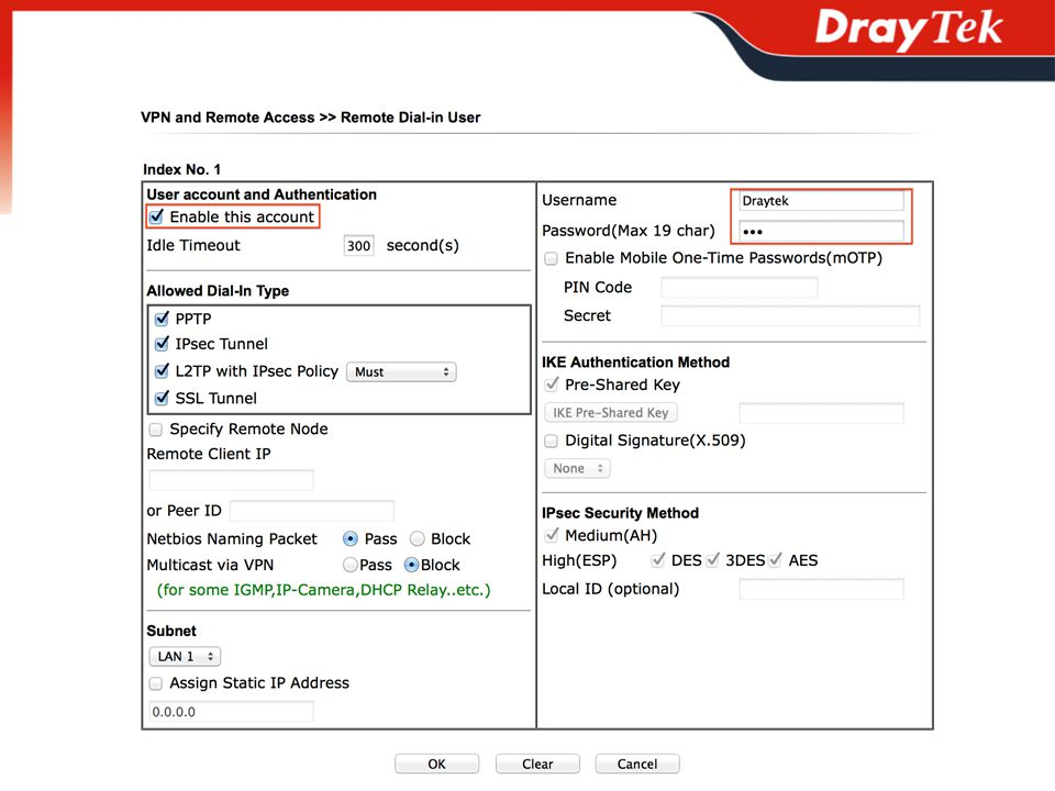 DrayTek VPN Solution  Outline What is VPN What does VPN Do Supported