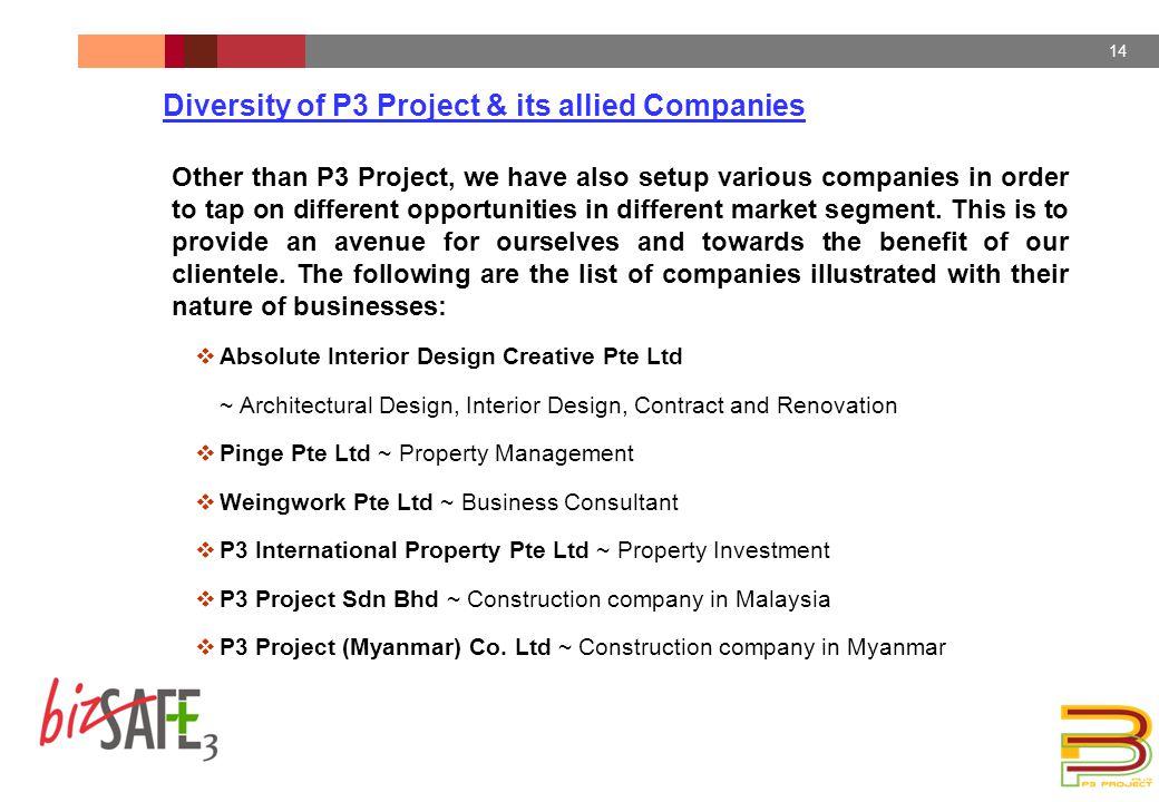 P3 Project Pte Ltd Business Profile  8/18/2015 DUPONT
