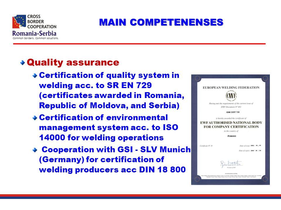 European Union Government Of Romania Serbian Government Structural