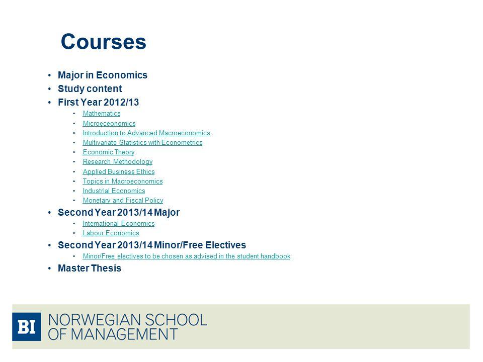 economics dissertation topics 2018