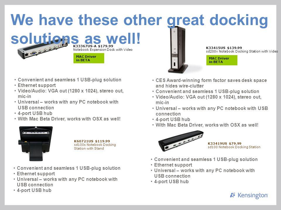 Kensington Wireless Docking Station K33920 Wireless USB Drivers for Windows Download