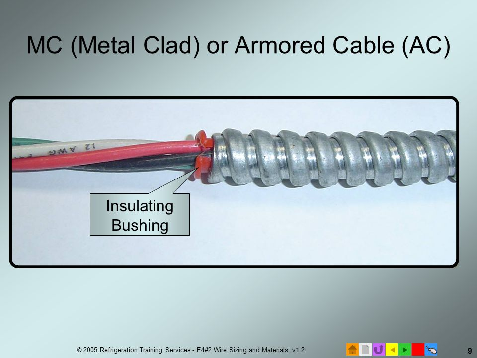 E4 Electrical Installation #2 Wire Sizing and Materials. - ppt download