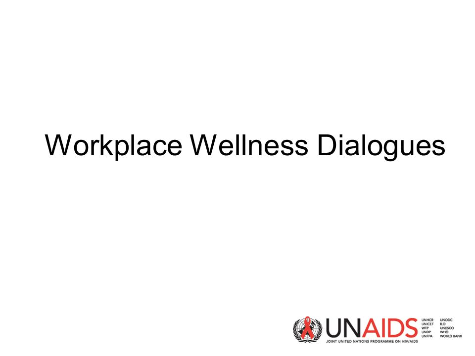 Workplace Wellness Dialogues