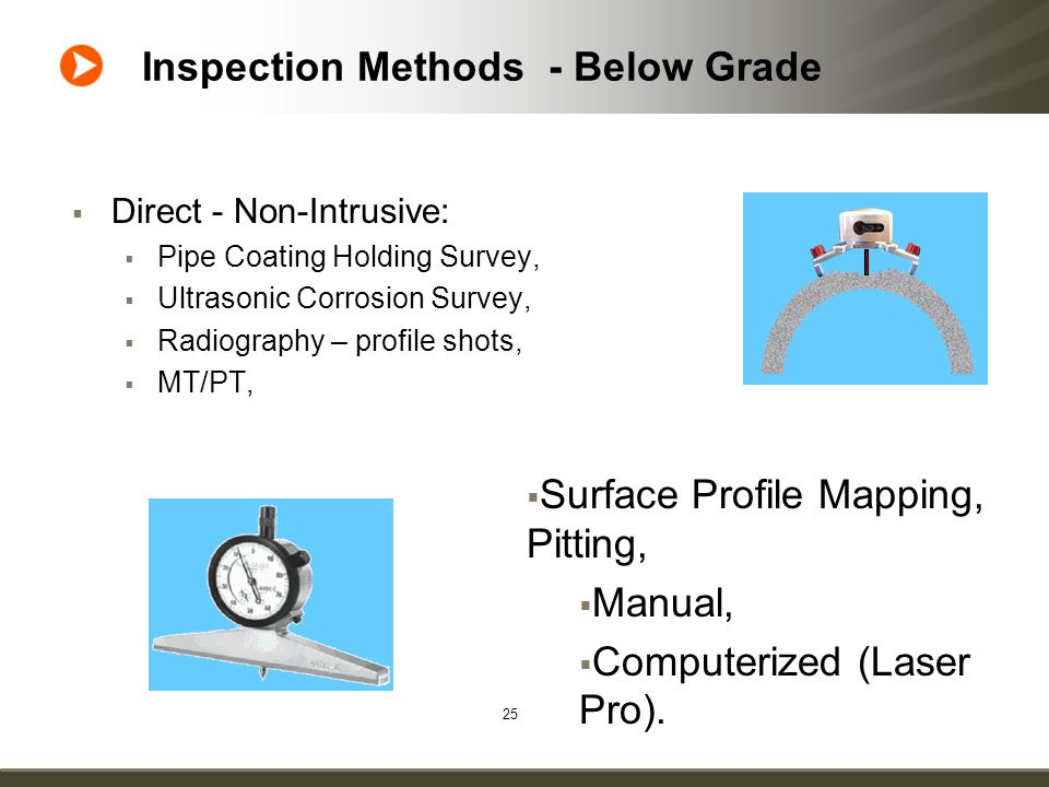 Guidelines for Inspection of In-plant Buried Process Piping Authors