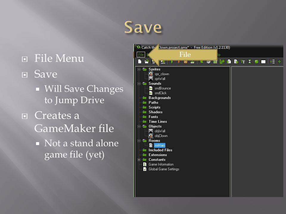 GameMaker   A lot of Different Definitions  Easier to Say What