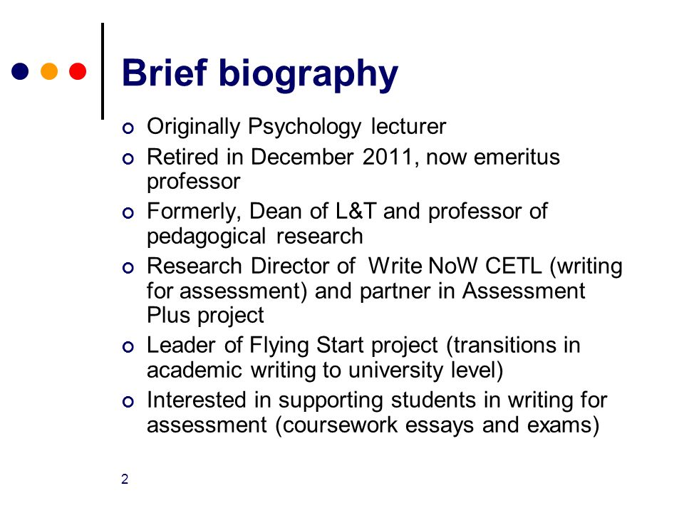 2 1 the flying start academic writing workshop emeritus professor lin norton assessment
