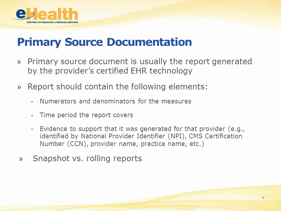 Audits For The Medicare And Medicaid Ehr Incentive Programs Vidya
