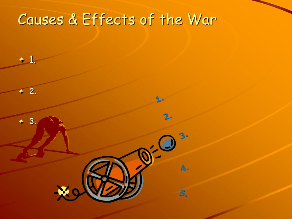 Causes & Effects of the War