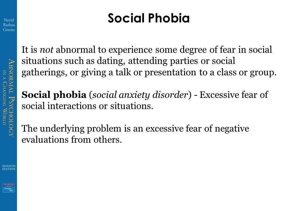 dating social phobia