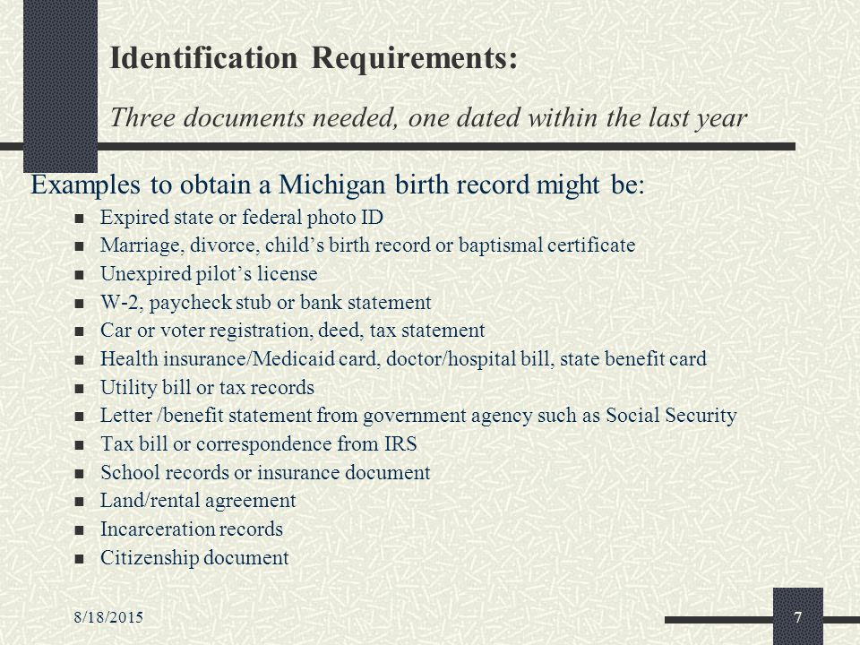 81820151 Authenticating Identity Of Applicants Applying For Birth