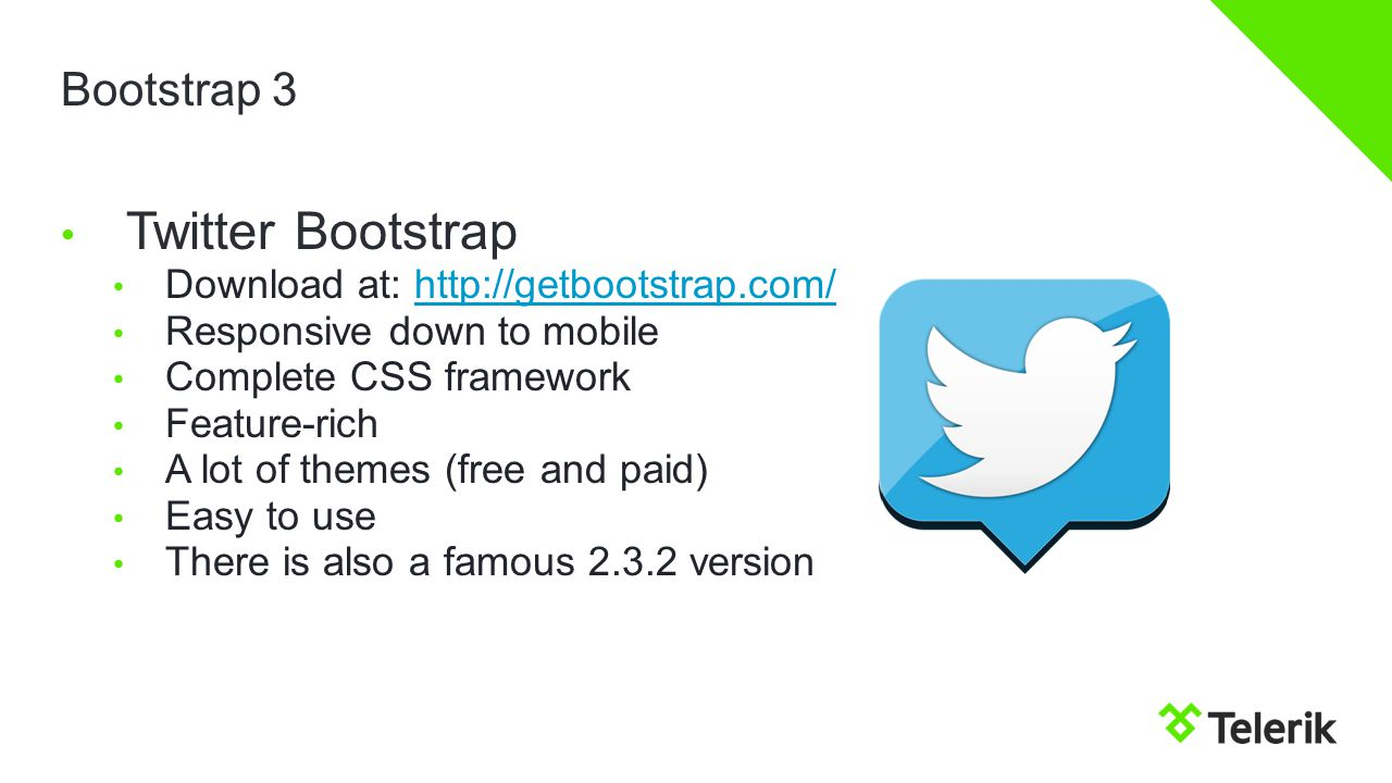 Twitter Bootstrap Telerik Software Academy - ppt download