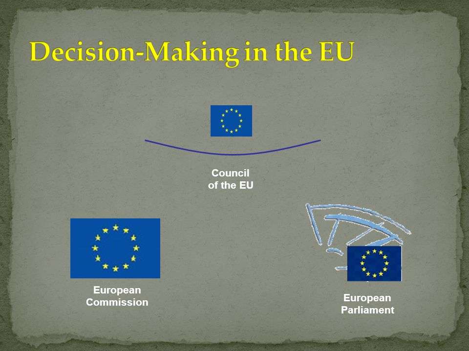 European Commission Council of the EU European Parliament