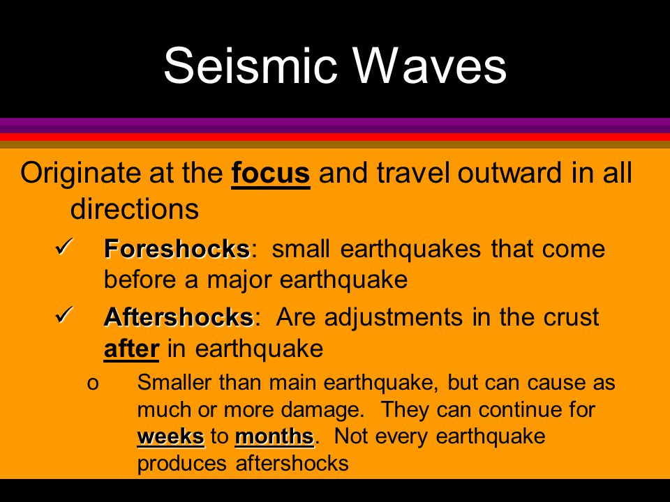 Fault lines & EArthquakes