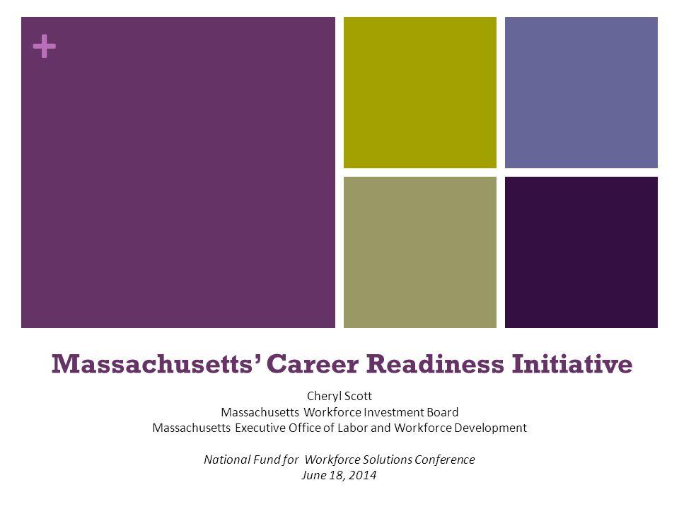 Massachusetts' Career Readiness Initiative Cheryl Scott