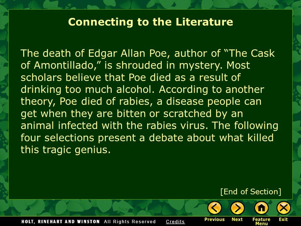 edgar allan poe death rabies
