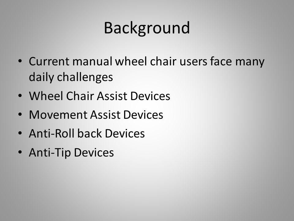 P14007: Wheelchair Assist Che-An Lee Phil Medalie Dan Schuster Tom ...