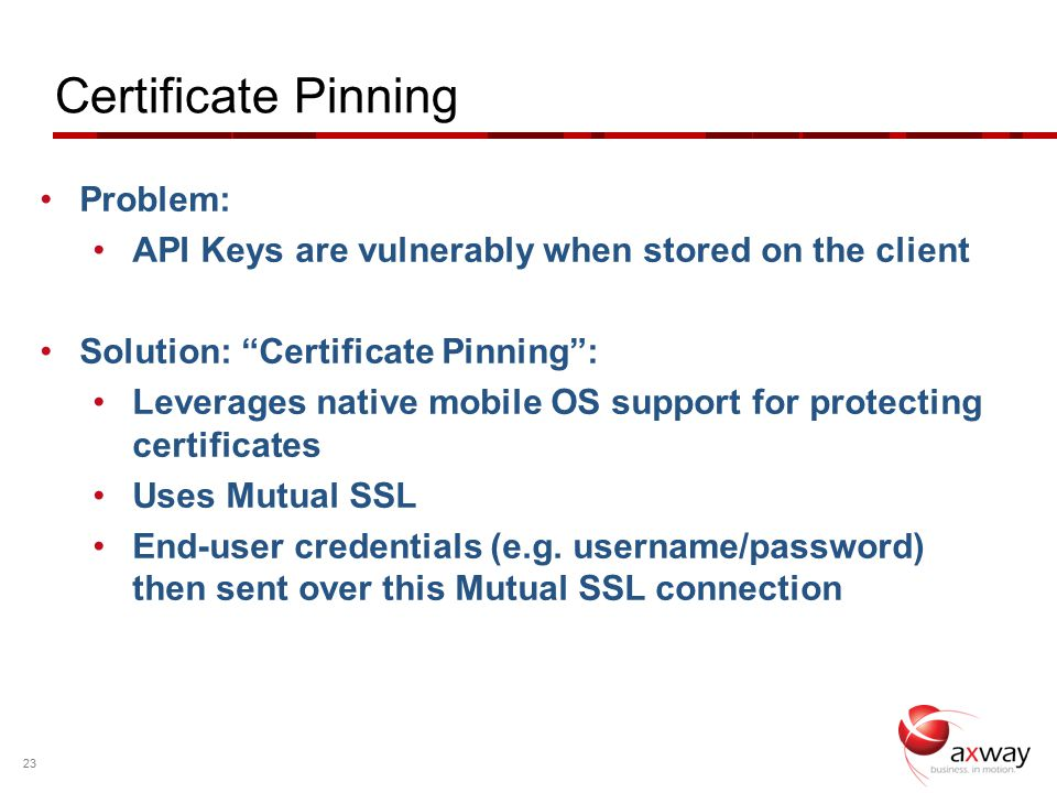 Practical Steps to Secure your APIs for Mobile Mark O'Neill
