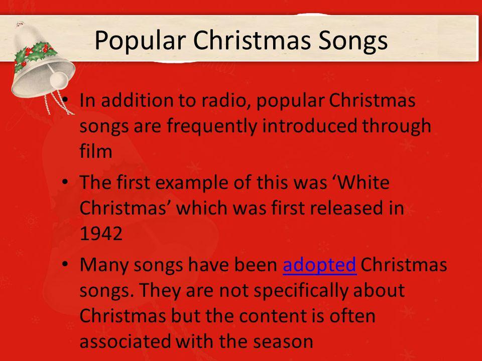 13 popular christmas songs - Popular Christmas Songs